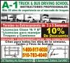 A-1 Truck & Bus Driving School